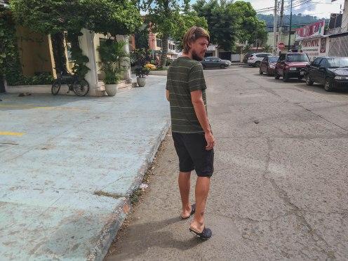 Blonde German was was robbed in Ecuador