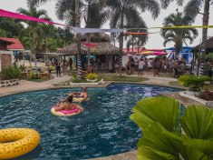 Pool party at the Condor Psytrance Festival
