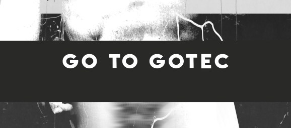 Go to Gotec Sign in black and white