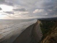 Beach of Olon, Ecuador