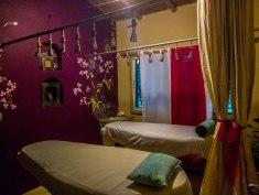 hotel massage area