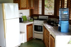 kitchen at the Clave Verde Ecolodge