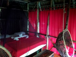 Matrimonial room at the Dominican Treehouse Village