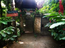 entrance of the Dominican Treehouse Village