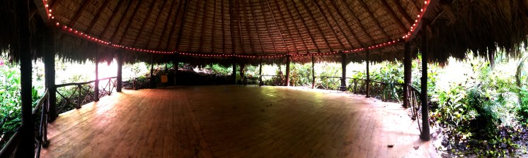 Meditation room at the Dominican Treehouse Village