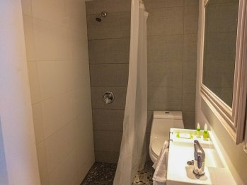 bathroom of the JFKey Home in Puerto Rico