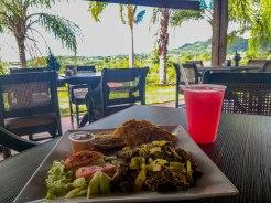 outdoor restaurant at Hacienda EL Jibarito