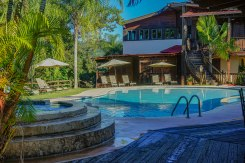 outdoor swimming pool at the Hacienda EL Jibarito