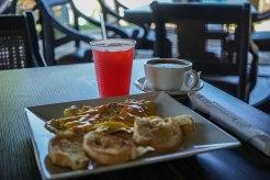 breakfast of Hacienda EL Jibarito