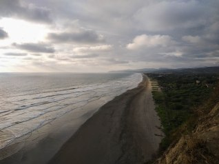 Sandy Beach in Ecuador