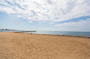 Sandy beach in Torrevieja