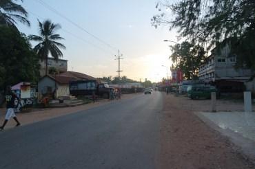 Road from Bakau to Banjul