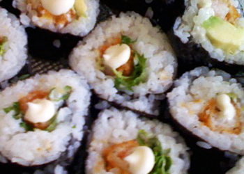 How to Eat a Sushi Roll