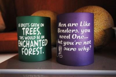 Sincere Beer Coozy Slogans