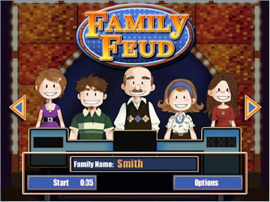 "Rejected ""Family Feud"" Categories"