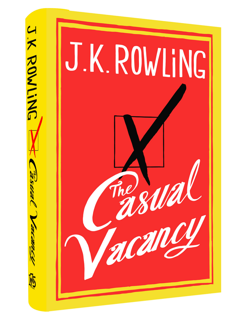 A Review of J.K. Rowling's New Novel that Does Not Make Constant, Punny Comparisons to Harry Potter