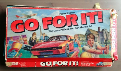 Go For It!: The most quintessentially '80s board game ever made
