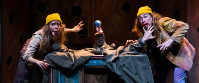 """Open Eye Figure Theatre's """"Nothing is Something"""": Indescribable—in a good way"""