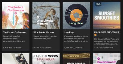 10 Hot New Spotify Playlists