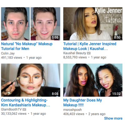 The Painter in Me is Obsessed with Makeup Tutorials