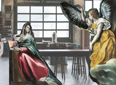 A Slightly Less Creepy Annunciation (Luke 1:26-38)