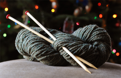 Homemade Knitting Needles Knitting Evangelism And A Pretty Scarf