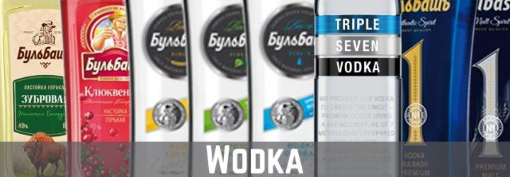Banner Kategorie Wodka auf thetankcompany.de