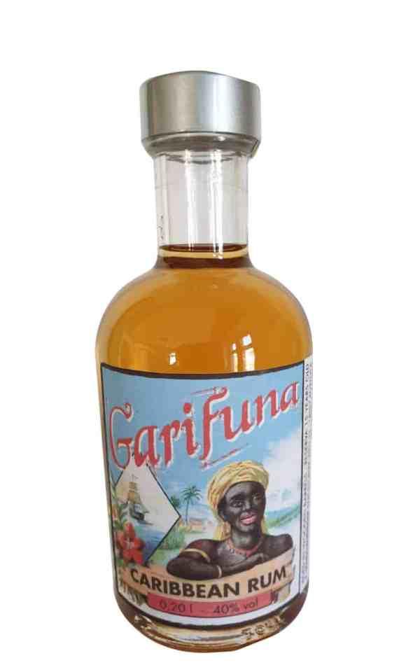 Garifuna Rum 0,2l als Mini-Tank