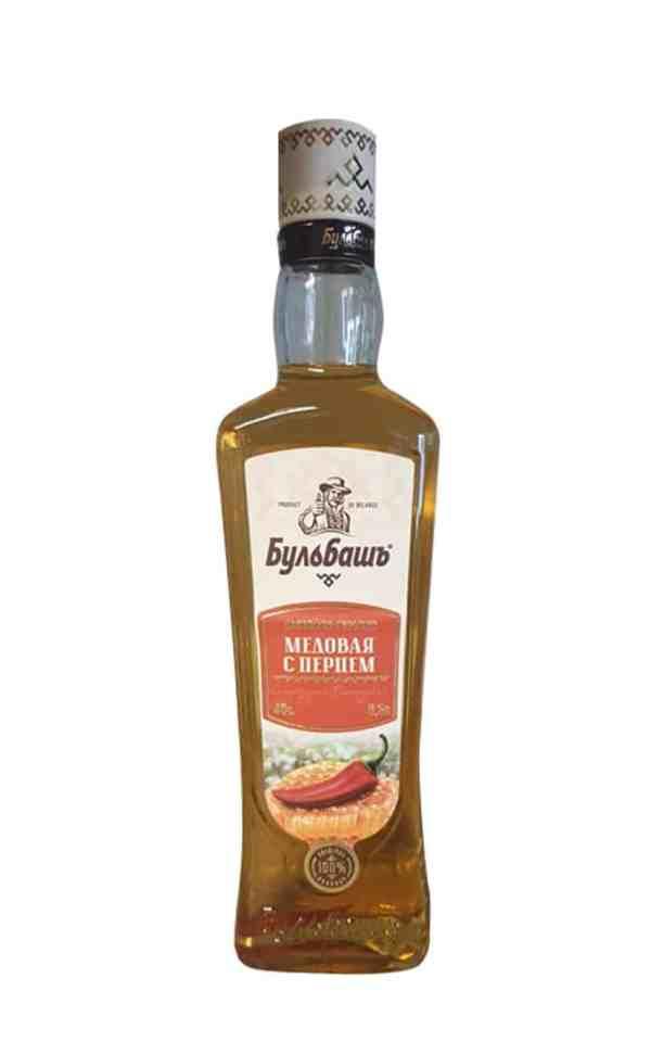 Bulbash Wodka Honig-Chili mit 40 Vol. % als 0,5 l Midi-Tank