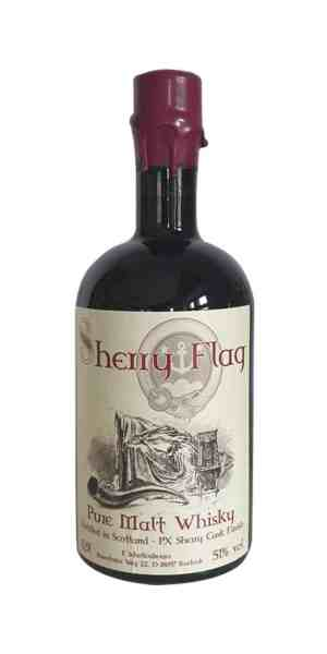 Sherry Flag Pure Malt Whisky mit 51 Vol. %
