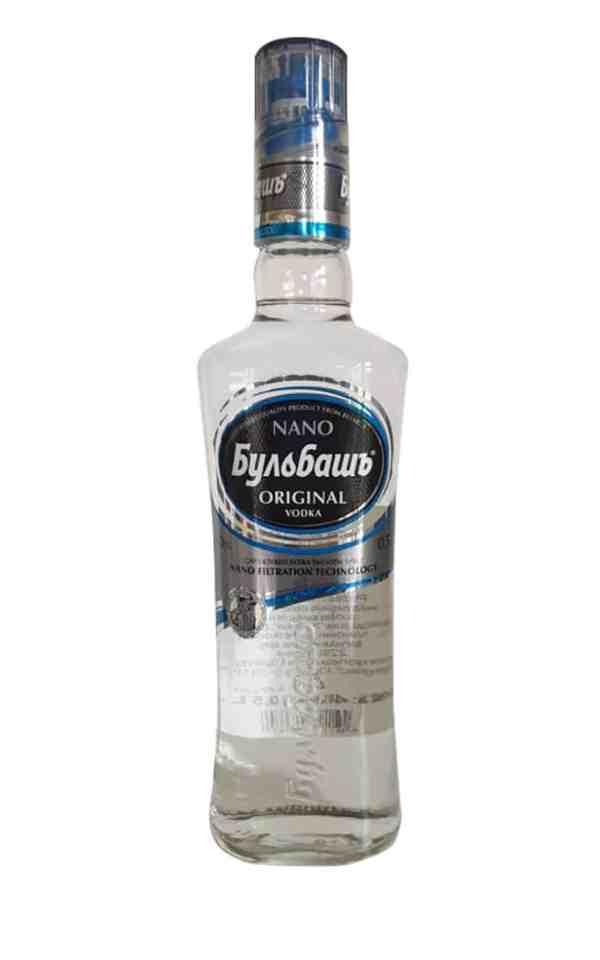 Wodka Bulbash NANO - 0,5-l mit 40 Vol.%