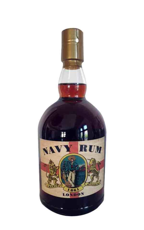 Navy Rum Charles Kinloch mit 43 Vol. %