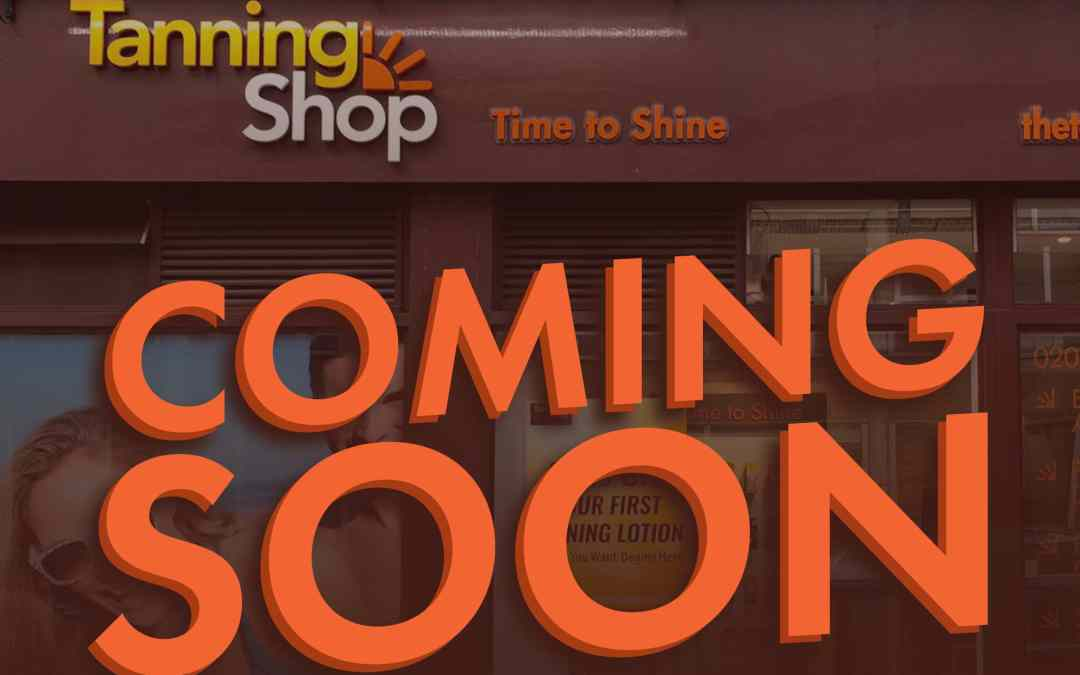 The Tanning Shop Telford Is Coming Soon!