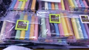 Crayons? No, white chocolate!