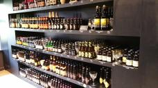 And a beer cellar with over a hundred beers!