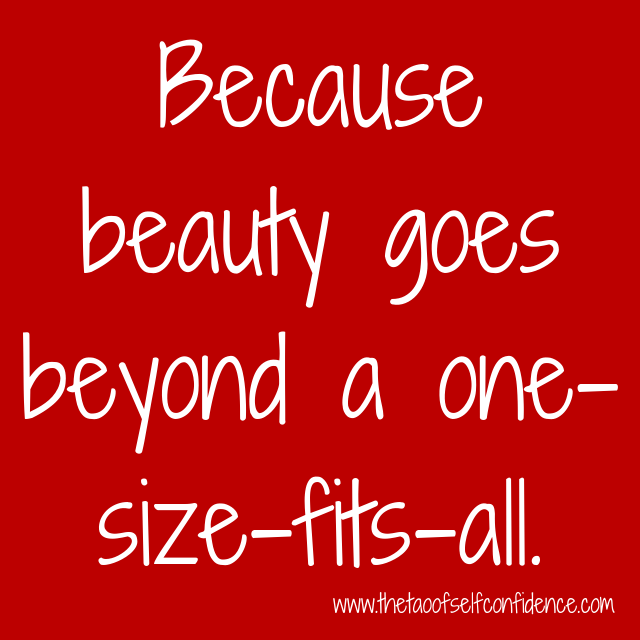 Because beauty goes beyond a one-size-fits-all.