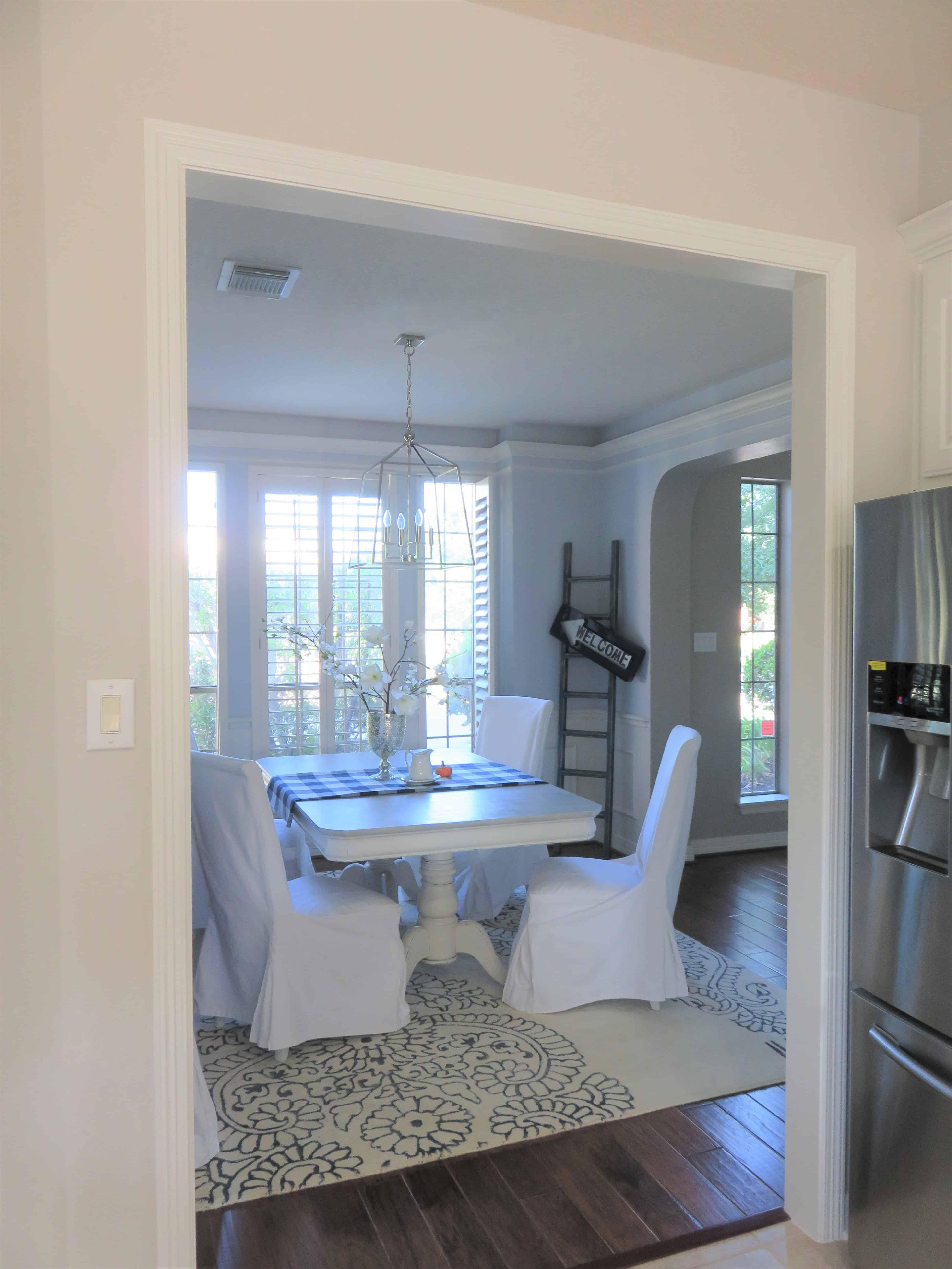 Opening up Kitchen Wall to Dining Room | thetarnishedjewelblog