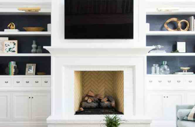So Besides Me Who Is LOVING The White Brick Fireplace Trend It Just Clean And Fresh Can Be Incorporated Into Almost Any Home Decor Style