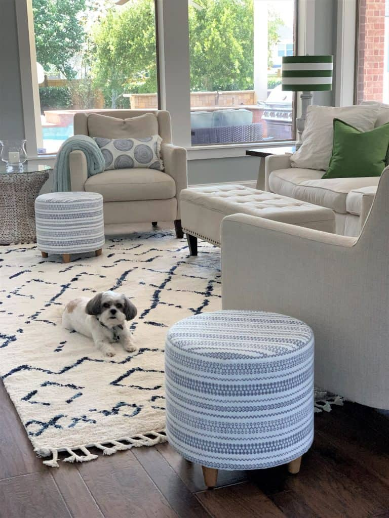 12 best navy and white area rugs under