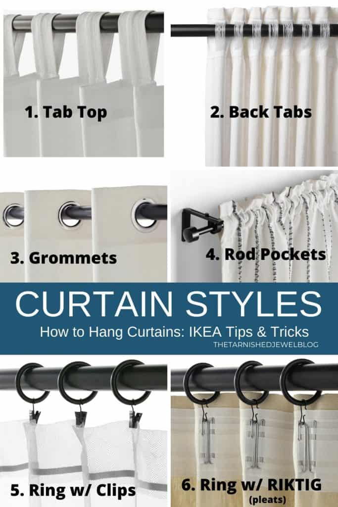 to hang curtains ikea tips tricks