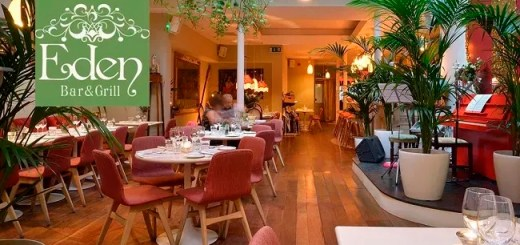 Share a Heavenly Brunch for 2 and a Glass of Prosecco Each at Eden Bar & Grill on South William St for €25