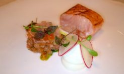 Adare Manor Limerick - Salmon,wasabi,radish - TheTaste.ie