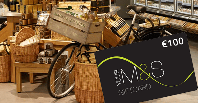 Win a €100 M&S Gift Card - Closed