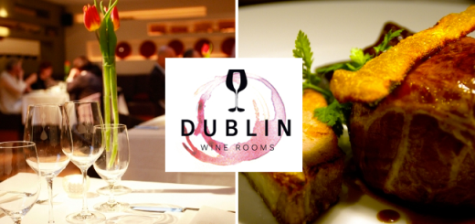 Taste Bubbles & Dinner - €49.99 for a 2 Course Dinner for 2 plus a Glass of Prosecco each at the stunning Dublin Wine Rooms, IFSC