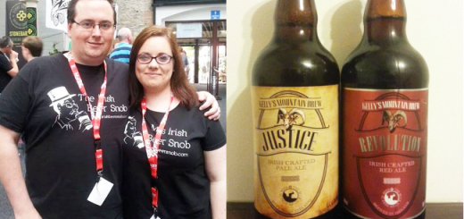 Kelly's Mountain Brewing Justice & Revolution by @IrishBeerSnob