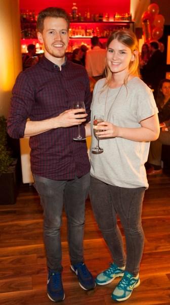 Adrian Collins and Leann Kemp