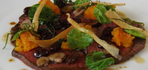 Venison Carpaccio Recipe by David Rice