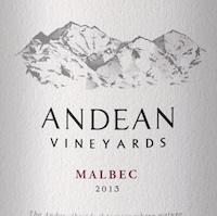 Andean Vineyards Malbec