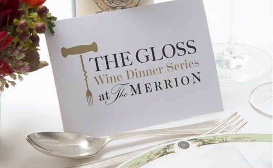 Win 2 tickets to The Gloss Wine Dinner Series at The Merrion Hotel - Closed