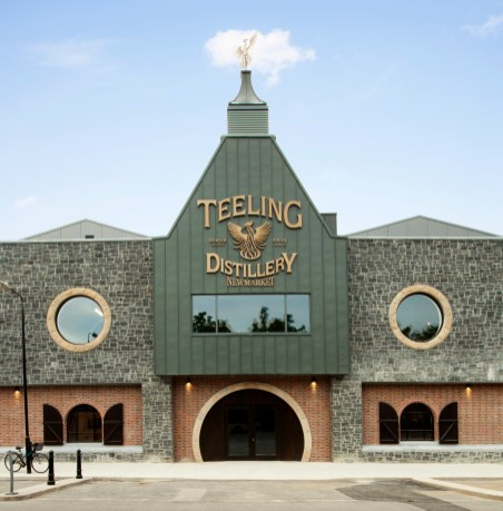 Teeling Whiskey Distillery- front view